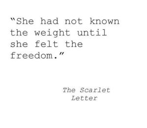 Scarlet letter quote